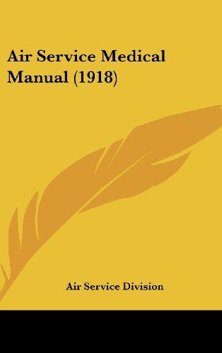 Air Service Medical Manual (1918)