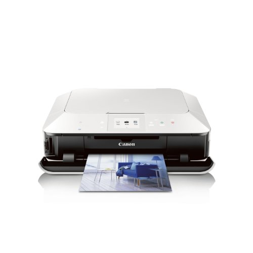Canon PIXMA MG6320 White Wireless Color Photo Printer with Scanner and Copier