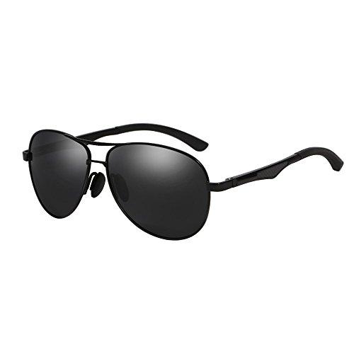 VEITHDIA-VA161-Aluminum-Magnesium-Polarized-Aviator-Sunglasses-UV400-protection