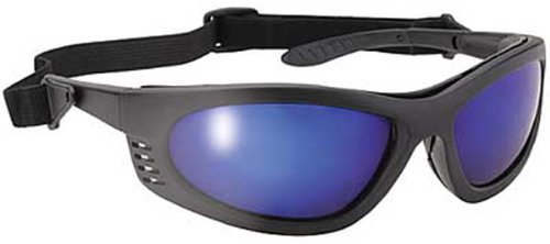 Pacific Coast Sunglasses Blue Mirror Lens Padded Frame