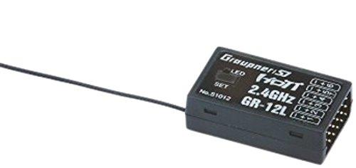 Graupner S1012.LOSE Empfänger GR-12L HoTT 2.4 GHz lose 6 K.