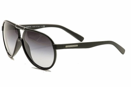 Dolce&Gabbana DG6078 Sunglasses-26418G Black (Gray Gradient Lens)-61mm