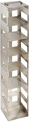 Nalgene Stainless Steel Cryobox Rack 7 Shelves, 59.0Cm Length X 22.5Cm Width X 14.3Cm Height (Case Of 2) front-617647