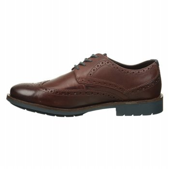 Clarks Men's Nordic Oxford,Brown,10 Big SALE