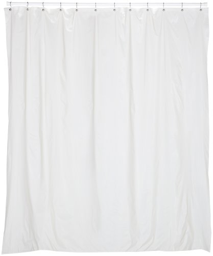 Carnation Home Fashions 72 Inch Wide By 78 Inch Long Vinyl Shower Curtain Lin Ebay