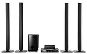 Samsung HT-BD2T Blu-Ray 7.1 Channel Home Theater System (Set of Nine, Black) (Discontinued by Manufacturer)