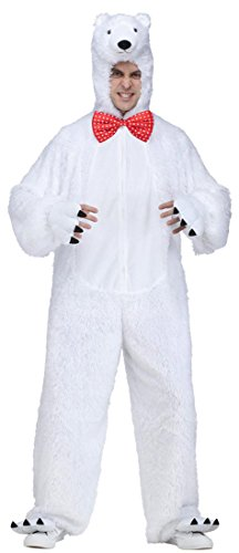 Polar Bear Animal Adult Halloween Costume