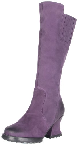John Fluevog Women's Alto Boot,Wash Purple,9 M US