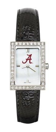 Alabama Crimson Tide Ua Ncaa Allure Ladies Watch With Black Leader Strap