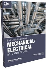 BNI Mechanical/Electrical Costbook 2013 - BNI Publications - BN-Mechanical - ISBN: 1557017646 - ISBN-13: 9781557017642