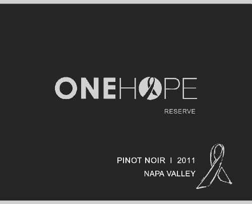 2011 Onehope Napa Valley Reserve Glitter Edition Pinot Noir 750 Ml