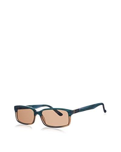 Gant Gafas de Sol GWS 2008 (55 mm) Azul Petróleo / Marrón