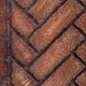 Monessen FBBLDV400VB Vintage Brown Herringbone Firebrick Walls and Hearthbrick f