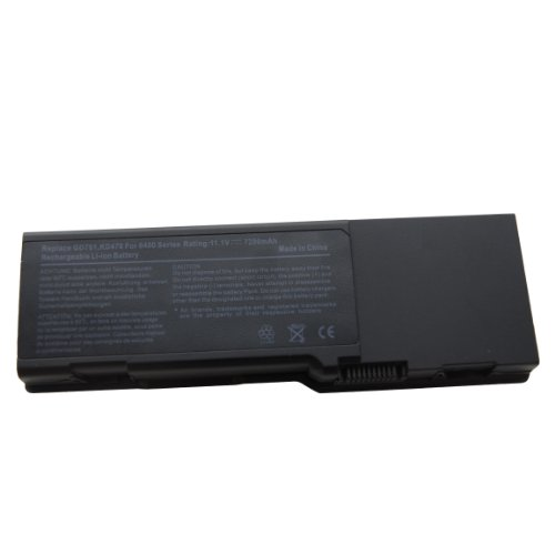 Anker? New Laptop Battery for Dell Inspiron 1501 6400 E1505 E1501 PP23LA PP20L Series - 18 Months Warranty [Li-ion 9-chamber 6600mAh]