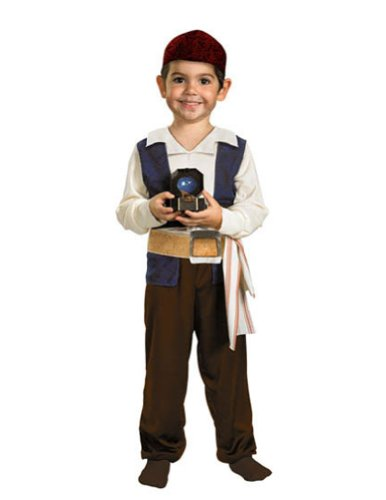 Baby-Toddler-Costume Jack Sparrow Toddler Costume 2T Halloween Costume