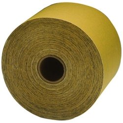 "3M 02597 Stikit Gold 2-3/4"" X 30 Yard P120A Grit Sheet Roll front-1046278"