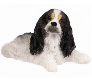 Cavalier King Charles Small Dog Statue