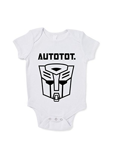 Autotot Funny Baby Grow Transformers Movie front-890988