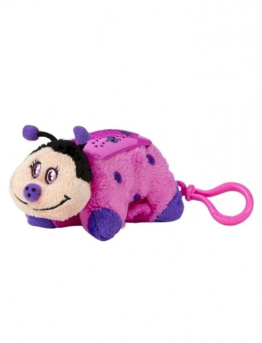 Pillow Pets Dream Lites Mini - Hot Pink Ladybug - 1
