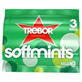 Trebor Softmints Peppermint X 3 Pack 132G