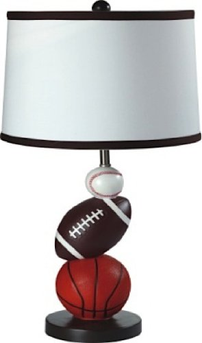 Ore International, Inc Ore International 8604 Multi Sport Table Lamp
