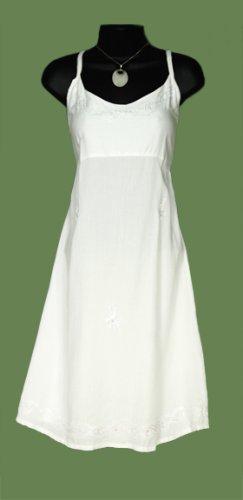 WOMENS SUN DRESS / SUNDRESS 'WHITE'