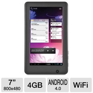 "Ematic eGlide 7"" Android 4.0 Internet Tablet from Electronic-Readers.com"