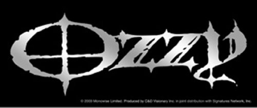 Licenses Products Ozzy Logo Sticker, Chrome