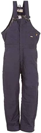Berne Mens Big-Tall Extra Flame Resistant Deluxe Insulated Bib by Berne