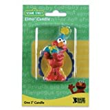 Sesame Street Elmo Cake Candle