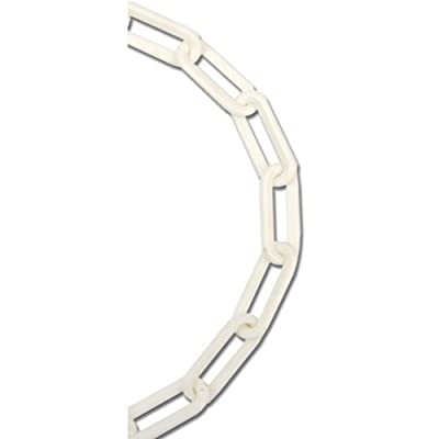 Koch 797676 No.8 by 70-Feet Plastic Chain, White sourcing is Koch Industries