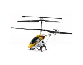T-Speed 9009 3.5 Channel Metal Proportional R/C Coaxial Helicopter with Built-in Gyro Multicolor L