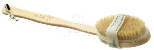Long Handle Body Brush with Medium Strength Natural Bristles