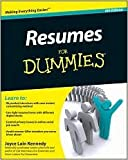 img - for Resumes For Dummies 6th (sixth) edition Text Only book / textbook / text book