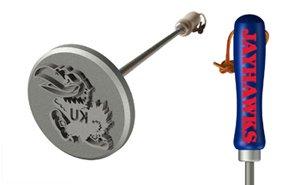 Kansas Jayhawks Branding Iron Grill Accessories