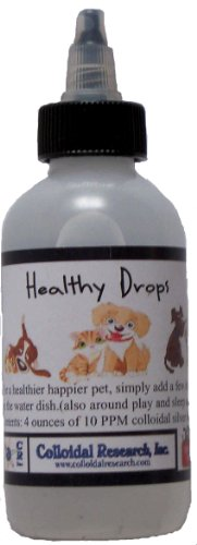 Healthy Drops 4-oz 10ppm colloidal silver water