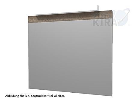 Trends Puris Kera superfici specchio (FSA4175B8) mobile da bagno, 75 cm