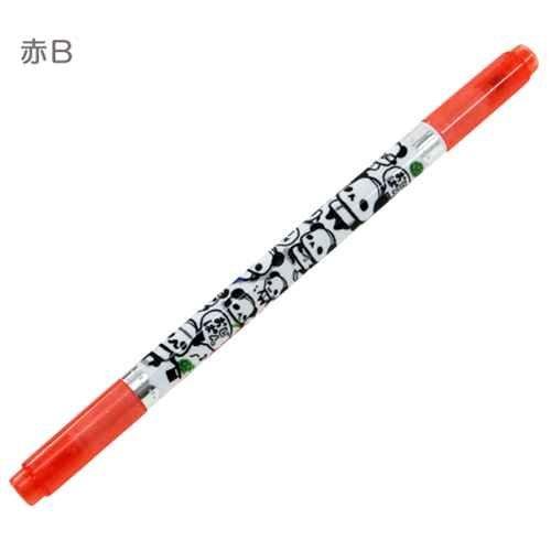 ojipan-uncle-panda-roter-tinte-ihren-namen-stift-schreibgerate-olbasis-filzstift-rot-b-kriechen