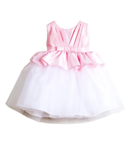 Pink Christening Gowns back-559873