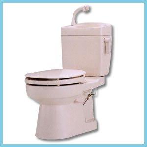 簡易水洗便器(手洗い付) ソフィアシリーズ FZ300-H06-P2(ニューピンク)