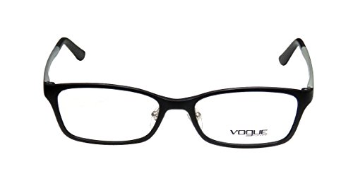 [Vogue 2877 Womens/Ladies Designer Full-rim Eyeglasses/Spectacles (53-16-140, Black)] (Michael Jackson Black Or White Costume)