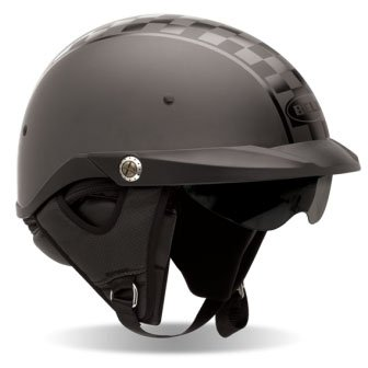 2013 Bell Pit Boss Checkers Twin Tone Motorcycle Helmet - Large
