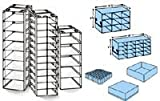 CHEST FREEZER RACK FOR 2 INCH BOXES, 12 BOX CAPACITY 25 1/2 INCHES