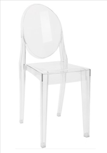 Kartell Victoria Ghost Chair - Transparent