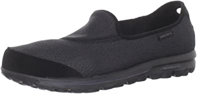 Skechers USA Ltd Women's Go Walk Black Mules Flats 13510 2 UK