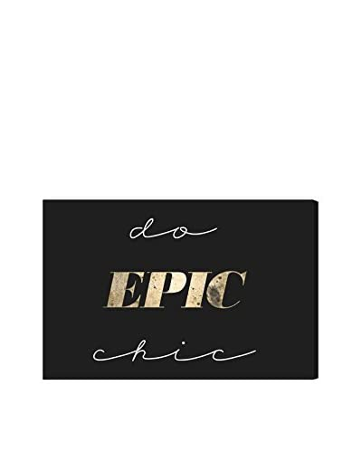 Oliver Gal Do Epic Chic Canvas Art