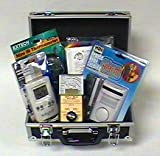 Deluxe Ghost Hunting Kit - With TriField EMF Meter, Motion Sensor, EVP Listener & IR Thermometer