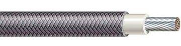10 Ga. Black 392° F High-Temperature Wire (Srml) - (Price Per 10 Feet)