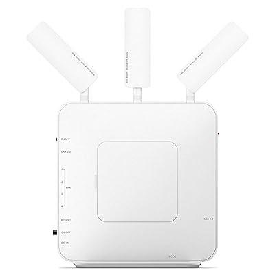 Buffalo AirStation Extreme AC1900 Gigabit Dual Band Open Source DD-WRT NXT Wireless Router (WXR-1900DHPD)