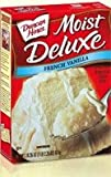 Duncan Hines Moist Delux French Vanilla Cake Mix (3 packs)